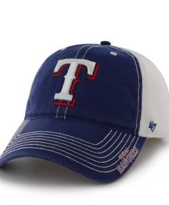 Texas Rangers Ripley Royal 47 Brand Stretch Fit Hat