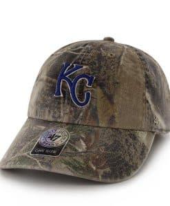 Kansas City Royals Realtree Clean Up Realtree 47 Brand Adjustable Hat