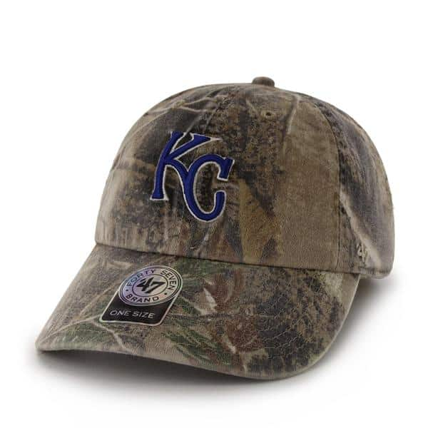 Kansas City Royals Realtree Clean Up Realtree 47 Brand Adjustable Hat