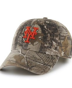 New York Mets Realtree Clean Up Realtree 47 Brand Adjustable Hat