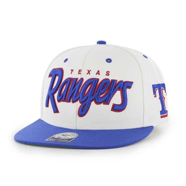 Texas Rangers Retroscript Natural 47 Brand Adjustable Hat