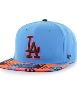 Los Angeles Dodgers Ruffian Captain Glacier Blue 47 Brand Adjustable Hat