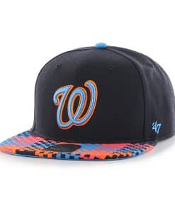 Washington Nationals Ruffian Captain Navy 47 Brand Adjustable Hat