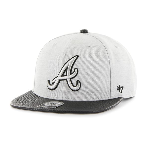 Atlanta Braves Riverside Captain Gray 47 Brand YOUTH Hat