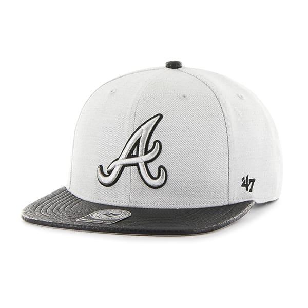 Atlanta Braves Riverside Captain Gray 47 Brand YOUTH Hat