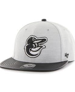 Baltimore Orioles Riverside Captain Gray 47 Brand Adjustable Hat