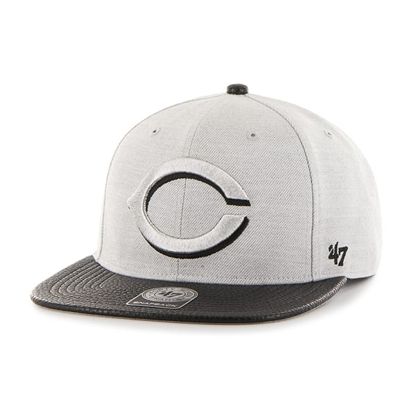 Cincinnati Reds Riverside Captain Gray 47 Brand YOUTH Hat