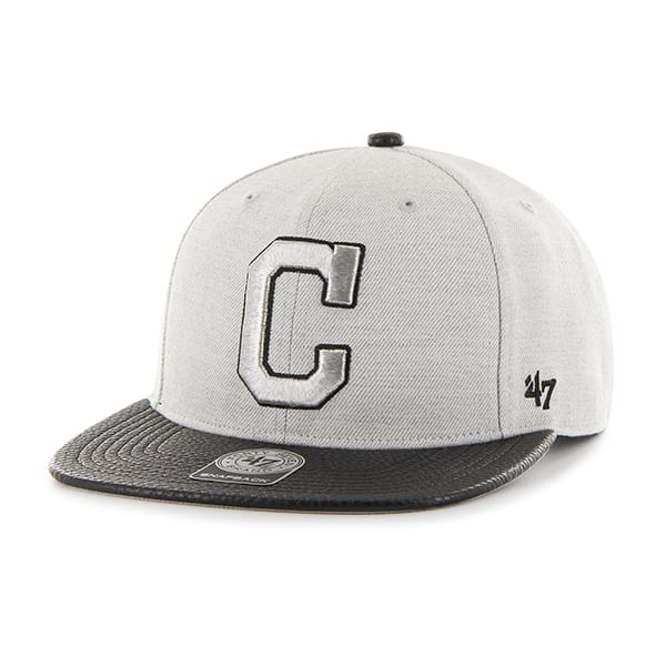 Cleveland Indians Riverside Captain Gray 47 Brand Adjustable Hat