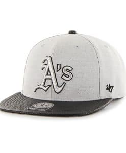 Oakland Athletics Riverside Captain Gray 47 Brand YOUTH Hat