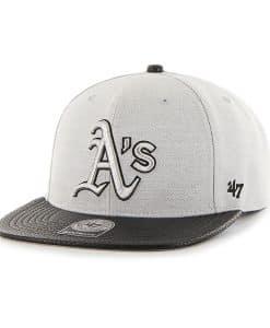 Oakland Athletics Riverside Captain Gray 47 Brand Adjustable Hat