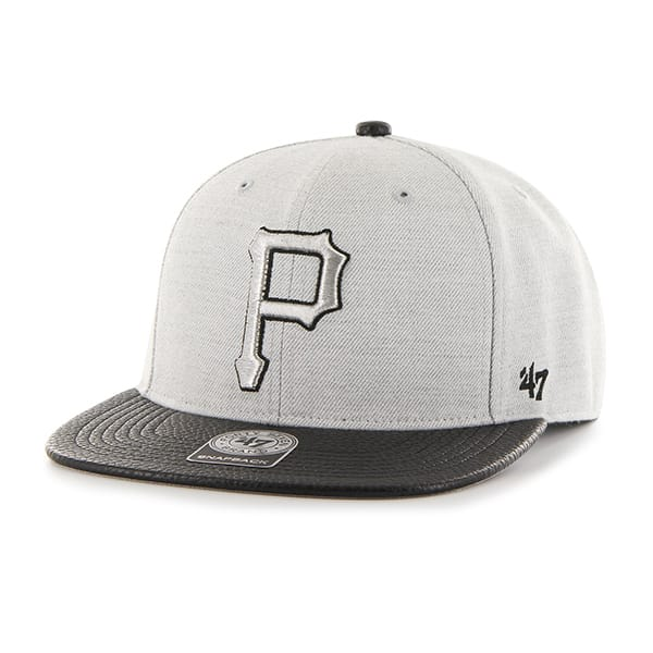 Pittsburgh Pirates Riverside Captain Gray 47 Brand YOUTH Hat