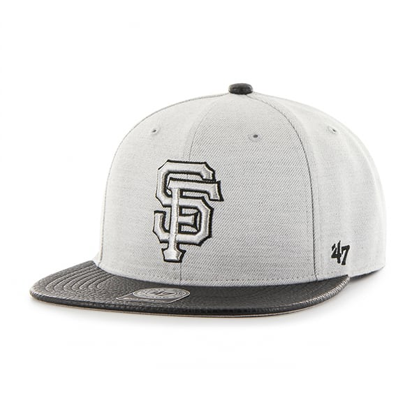 San Francisco Giants Riverside Captain Gray 47 Brand YOUTH Hat