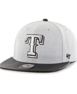 Texas Rangers Riverside Captain Gray 47 Brand YOUTH Hat