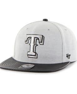 Texas Rangers Riverside Captain Gray 47 Brand Adjustable Hat