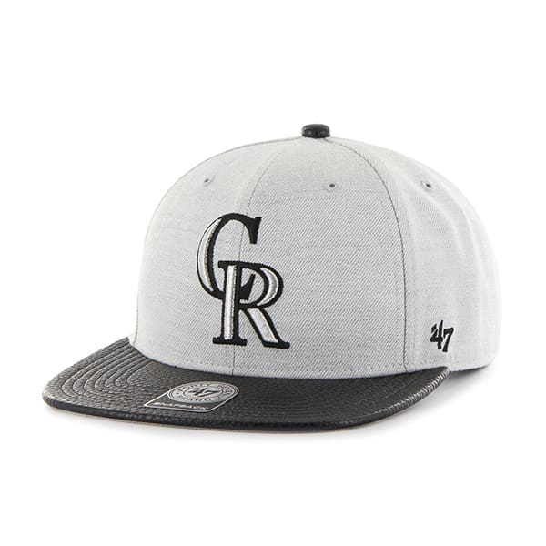 Colorado Rockies Riverside Captain Gray 47 Brand Adjustable Hat