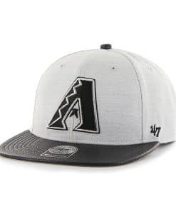 Arizona Diamondbacks Riverside Captain Gray 47 Brand YOUTH Hat
