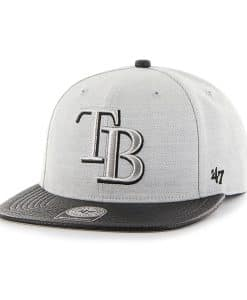 Tampa Bay Rays Riverside Captain Gray 47 Brand YOUTH Hat