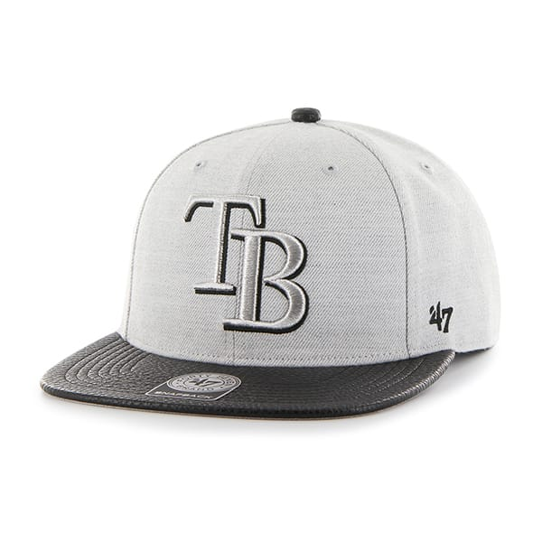 Tampa Bay Rays Riverside Captain Gray 47 Brand Adjustable Hat