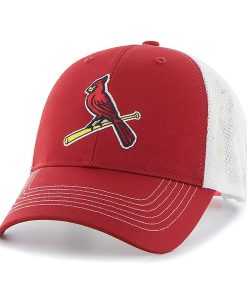 St. Louis Cardinals Mass Raycroft Red 47 Brand Adjustable Hat