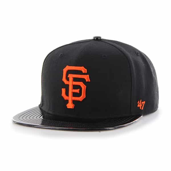 San Francisco Giants Shinedown Captain Black 47 Brand Adjustable Hat