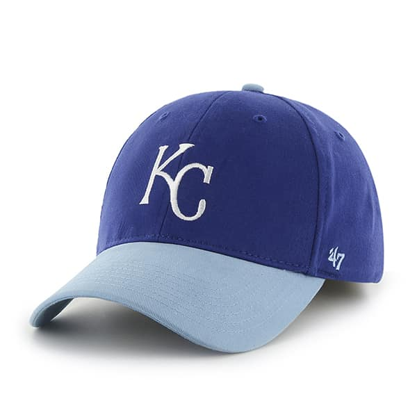 Kansas City Royals Short Stack MVP Royal 47 Brand YOUTH Hat