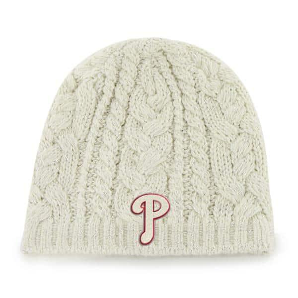 Philadelphia Phillies Shawnee Knit Natural 47 Brand Womens Hat