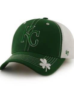 Kansas City Royals St Patty'S Flux Kelly 47 Brand Adjustable Hat