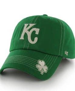 Kansas City Royals St Patty's Fatty Kelly 47 Brand Adjustable Hat
