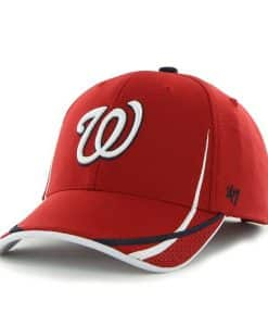 Washington Nationals Sparhawk MVP Red 47 Brand Adjustable Hat