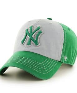 New York Yankees St Patty's Mcgraw Clean Up Kelly 47 Brand Adjustable Hat