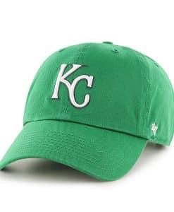 Kansas City Royals St Patty'S Clean Up Kelly 47 Brand Adjustable Hat