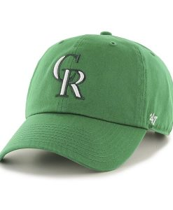 Colorado Rockies St Patty'S Clean Up Kelly 47 Brand Adjustable Hat