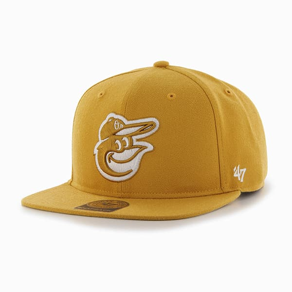 Baltimore Orioles Sure Shot Wheat 47 Brand Adjustable Hat
