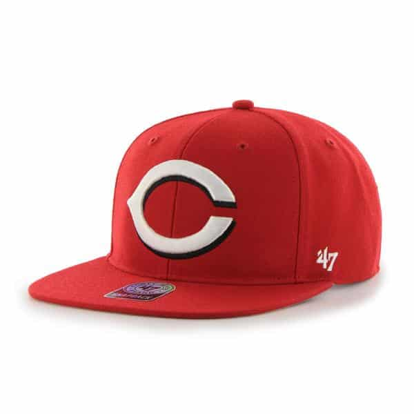 Cincinnati Reds Sure Shot Red 47 Brand Adjustable Hat