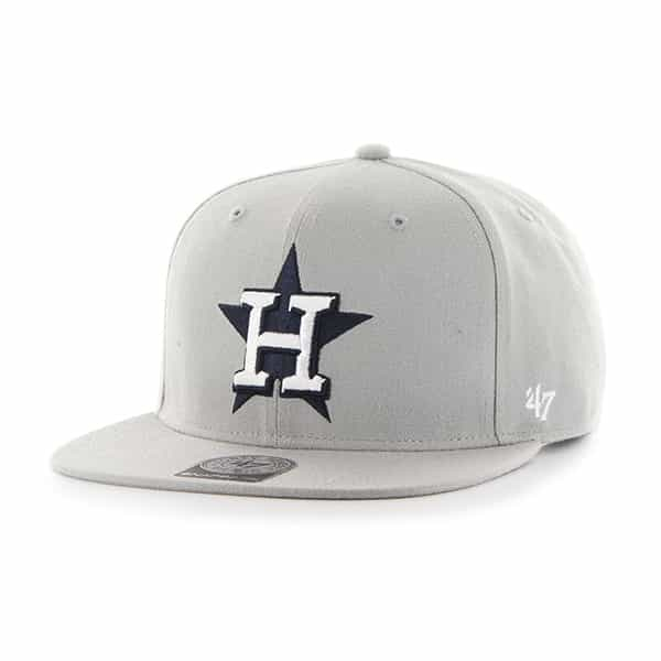 Houston Astros Sure Shot Gray 47 Brand Adjustable Hat