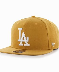 Los Angeles Dodgers Sure Shot Wheat 47 Brand Adjustable Hat