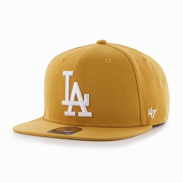Los Angeles Dodgers Sure Shot Wheat 47 Brand Adjustable Hat