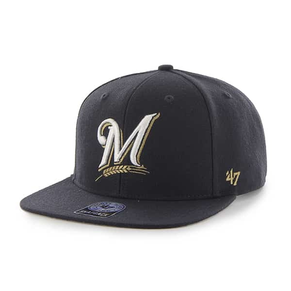 Milwaukee Brewers Sure Shot Navy 47 Brand Adjustable Hat