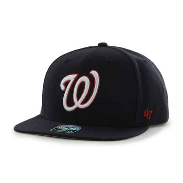Washington Nationals Sure Shot Navy 47 Brand Adjustable Hat