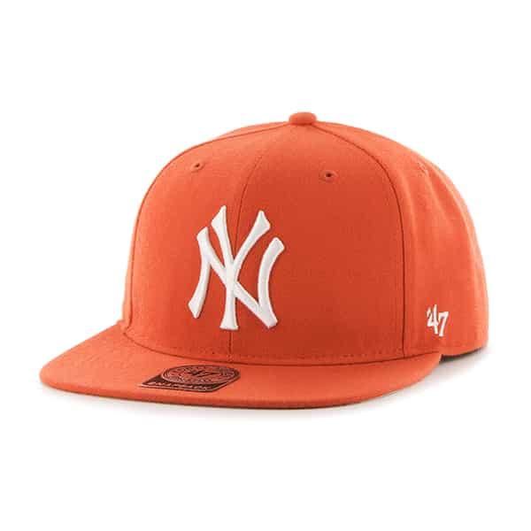 New York Yankees Sure Shot Orange 47 Brand Adjustable Hat