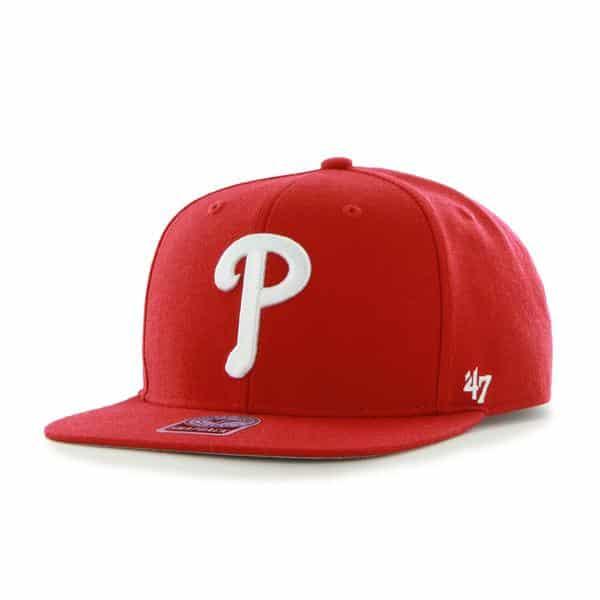 Philadelphia Phillies Sure Shot Red 47 Brand Adjustable Hat