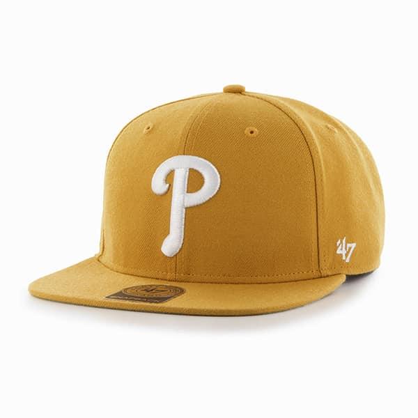 Philadelphia Phillies Sure Shot Wheat 47 Brand Adjustable Hat
