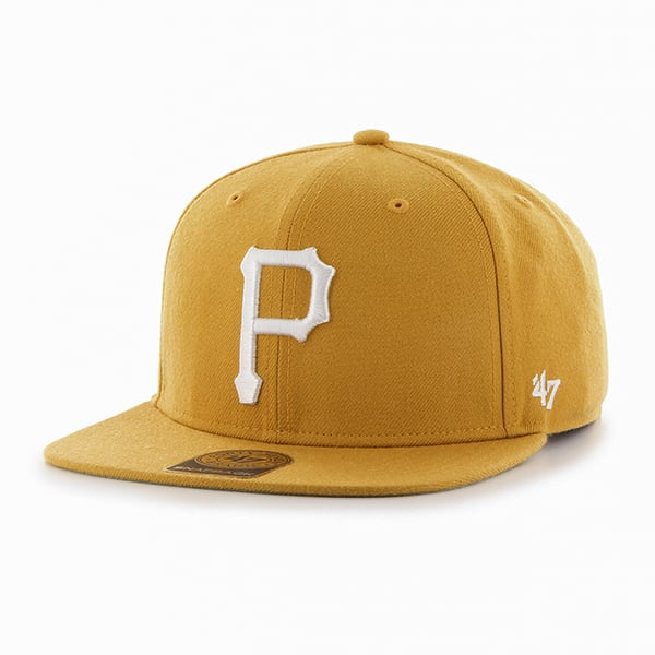 Pittsburgh Pirates Sure Shot Wheat 47 Brand Adjustable Hat