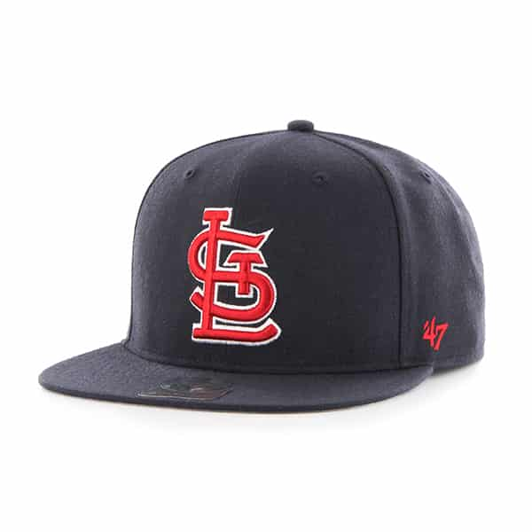 St. Louis Cardinals Sure Shot Navy 47 Brand Adjustable Hat
