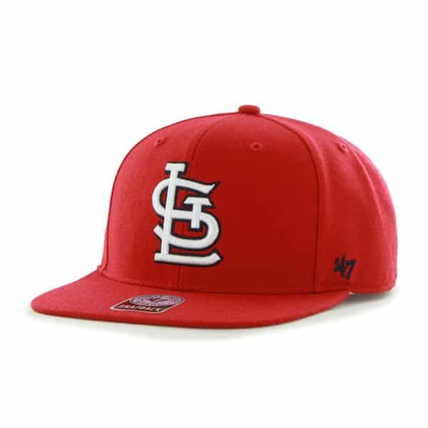 St. Louis Cardinals Sure Shot Red 47 Brand Adjustable Hat