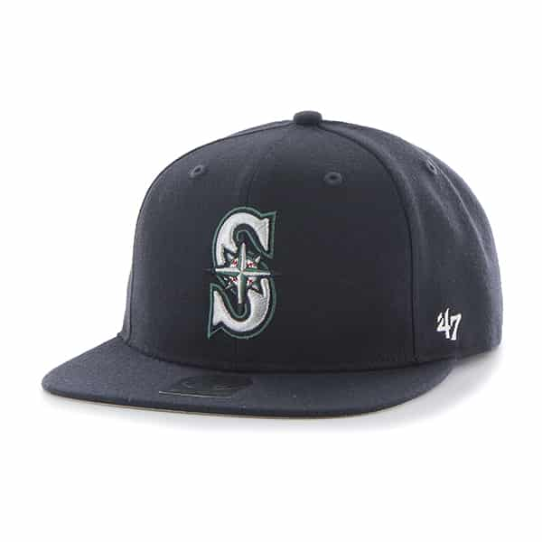 Seattle Mariners Sure Shot Navy 47 Brand Adjustable Hat