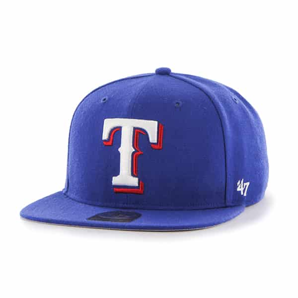 Texas Rangers Sure Shot Royal 47 Brand Adjustable Hat