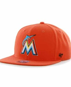 Miami Marlins Sure Shot Thunder 47 Brand Adjustable Hat