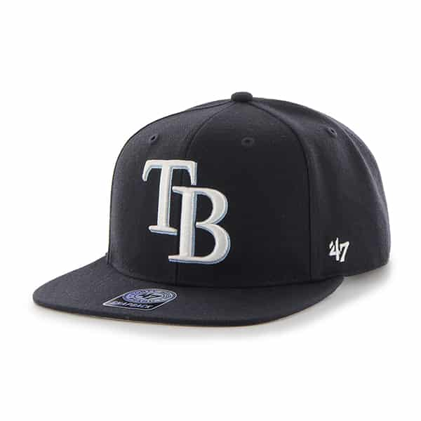 Tampa Bay Rays Sure Shot Navy 47 Brand Adjustable Hat