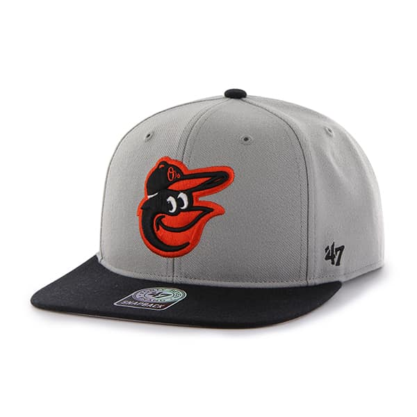 Baltimore Orioles Sure Shot Two Tone Captain Gray 47 Brand Adjustable Hat